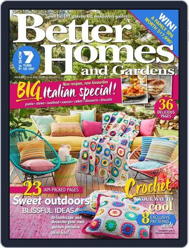 Better Homes and Gardens Australia (Digital) November 1st, 2016 Issue Cover