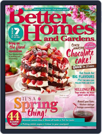 Better Homes and Gardens Australia (Digital) August 1st, 2016 Issue Cover