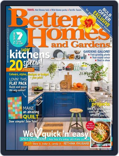 Better Homes and Gardens Australia (Digital) July 20th, 2016 Issue Cover