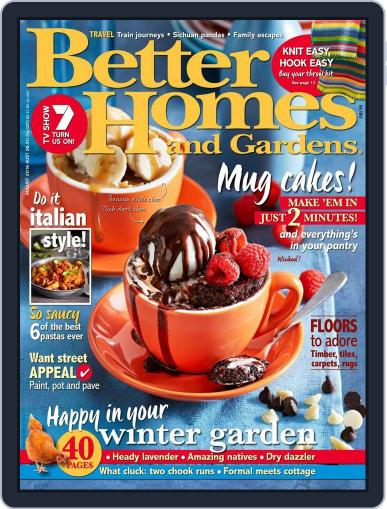 Better Homes and Gardens Australia (Digital) June 22nd, 2016 Issue Cover