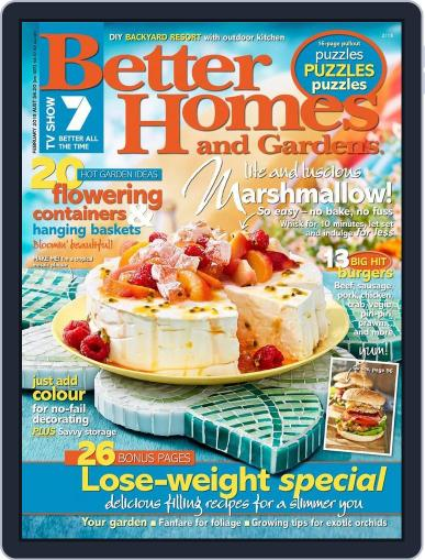 Better Homes and Gardens Australia (Digital) January 8th, 2013 Issue Cover
