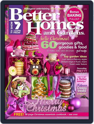 Better Homes and Gardens Australia (Digital) October 29th, 2012 Issue Cover