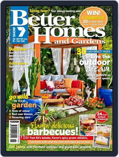 Better Homes and Gardens Australia (Digital) September 25th, 2012 Issue Cover