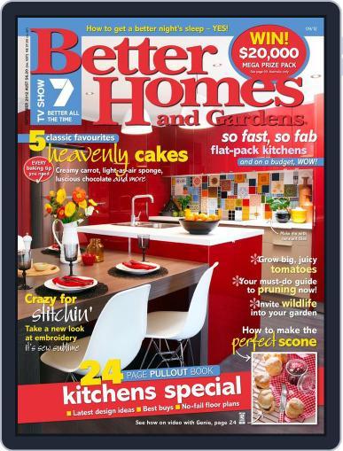 Better Homes and Gardens Australia (Digital) September 1st, 2012 Issue Cover