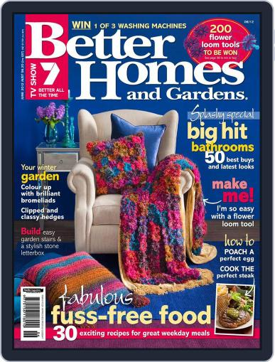 Better Homes and Gardens Australia (Digital) May 3rd, 2012 Issue Cover