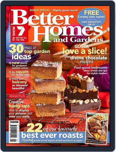 Better Homes and Gardens Australia (Digital) May 1st, 2012 Issue Cover