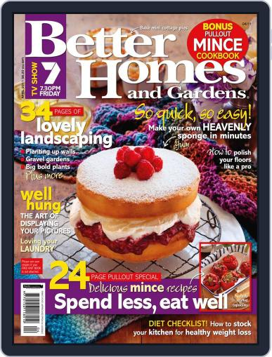 Better Homes and Gardens Australia (Digital) April 1st, 2011 Issue Cover
