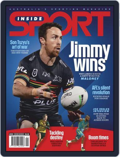 Inside Sport September 1st, 2019 Digital Back Issue Cover