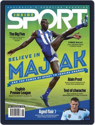 Inside Sport August 1st, 2019 Digital Back Issue Cover