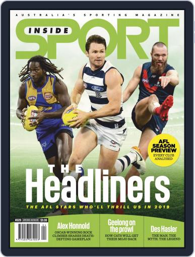 Inside Sport April 1st, 2019 Digital Back Issue Cover