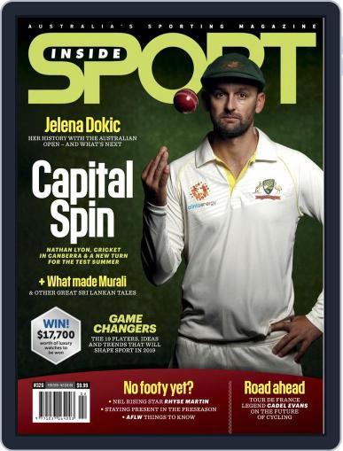 Inside Sport February 1st, 2019 Digital Back Issue Cover