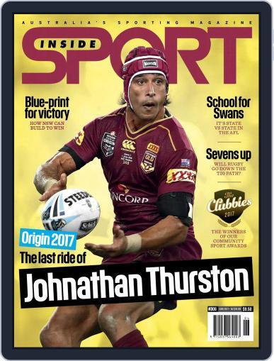 Inside Sport June 1st, 2017 Digital Back Issue Cover