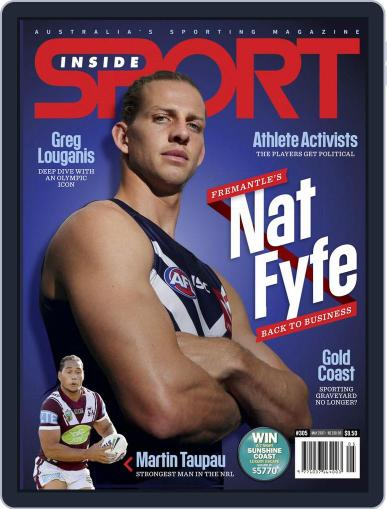 Inside Sport May 1st, 2017 Digital Back Issue Cover