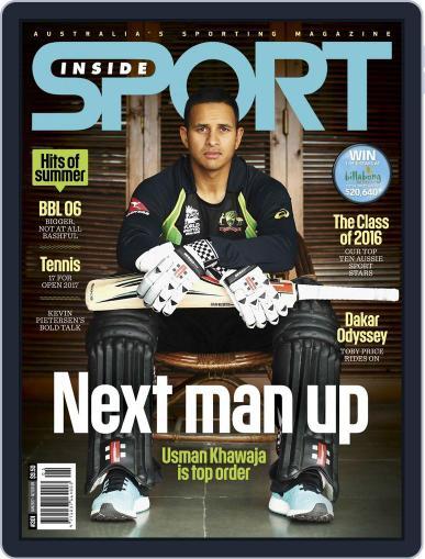 Inside Sport January 1st, 2017 Digital Back Issue Cover
