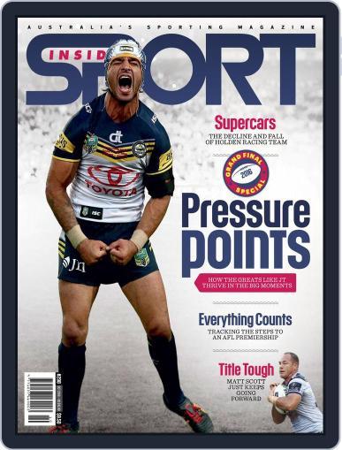 Inside Sport October 1st, 2016 Digital Back Issue Cover