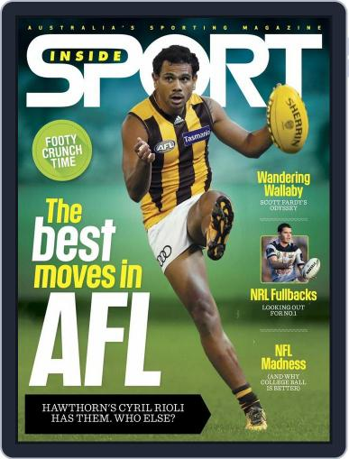 Inside Sport August 17th, 2016 Digital Back Issue Cover
