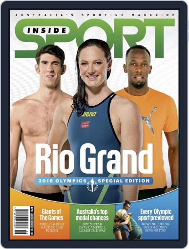Inside Sport July 20th, 2016 Digital Back Issue Cover