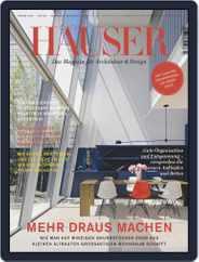 Häuser (Digital) Subscription June 1st, 2020 Issue