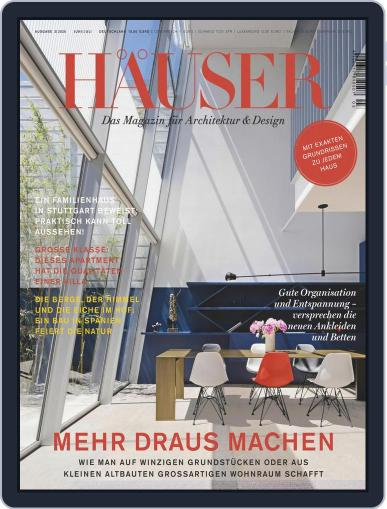 Häuser (Digital) June 1st, 2020 Issue Cover