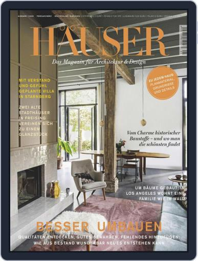 Häuser (Digital) January 1st, 2020 Issue Cover