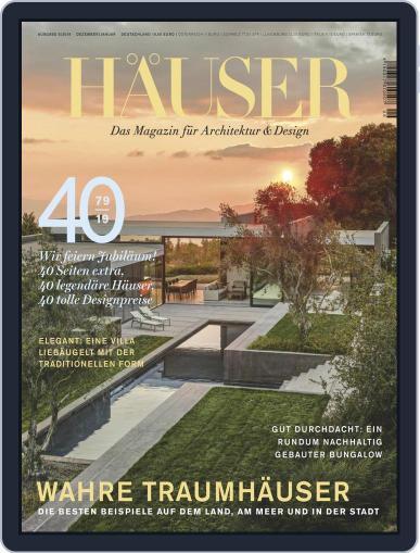 Häuser (Digital) December 1st, 2019 Issue Cover