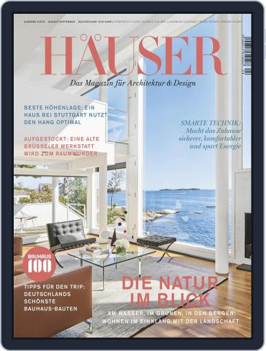 Häuser (Digital) August 1st, 2019 Issue Cover