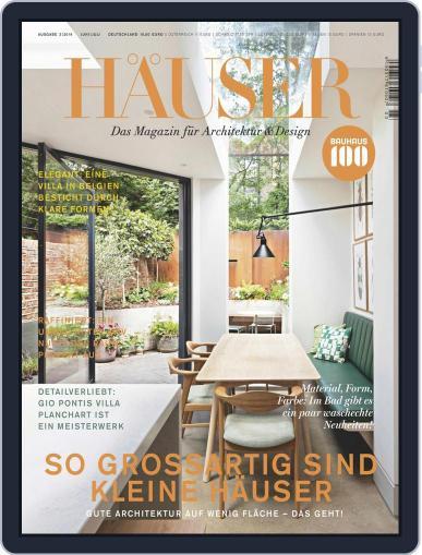 Häuser (Digital) June 1st, 2019 Issue Cover