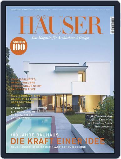 Häuser (Digital) December 1st, 2018 Issue Cover