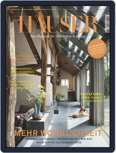 Häuser (Digital) October 1st, 2018 Issue Cover