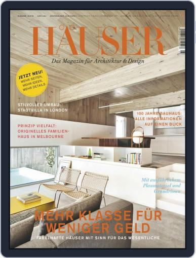 Häuser (Digital) March 1st, 2018 Issue Cover
