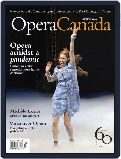 Opera Canada (Digital) June 5th, 2020 Issue Cover