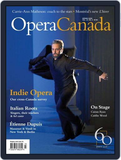 Opera Canada (Digital) March 6th, 2020 Issue Cover