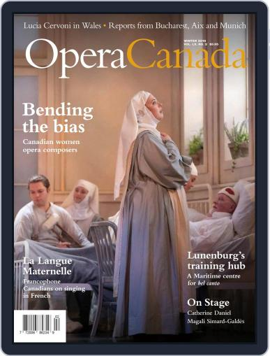Opera Canada (Digital) December 6th, 2019 Issue Cover