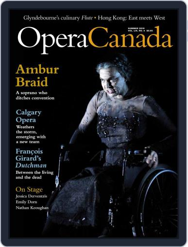 Opera Canada May 1st, 2019 Digital Back Issue Cover