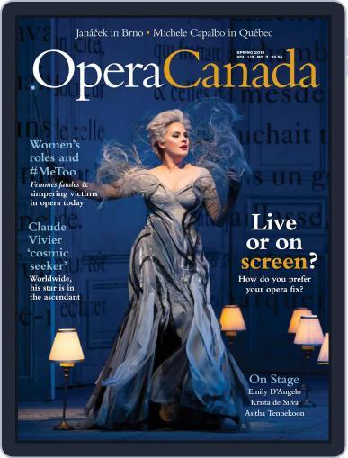Opera Canada March 8th, 2019 Digital Back Issue Cover