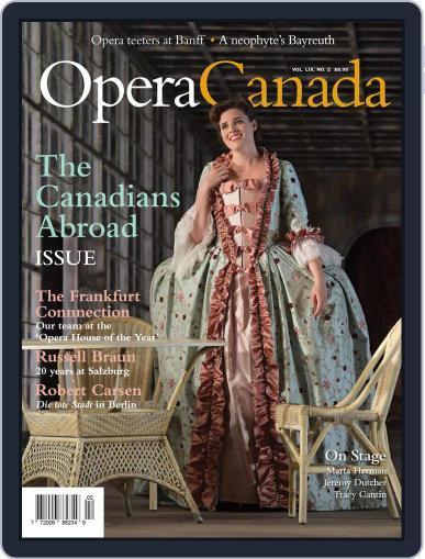 Opera Canada December 14th, 2018 Digital Back Issue Cover