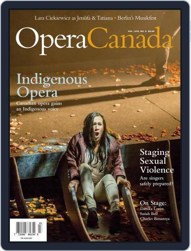 Opera Canada (Digital) February 1st, 2018 Issue Cover