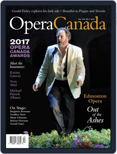 Opera Canada (Digital) October 20th, 2017 Issue Cover