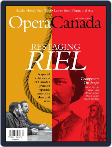 Opera Canada (Digital) April 1st, 2017 Issue Cover