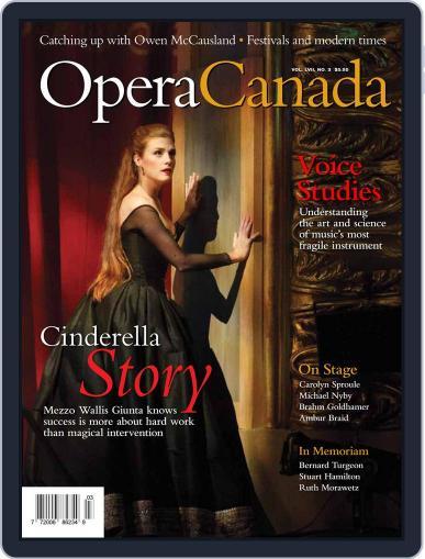 Opera Canada January 1st, 2017 Digital Back Issue Cover