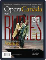 Opera Canada (Digital) Subscription November 1st, 2015 Issue