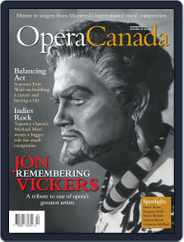 Opera Canada (Digital) Subscription August 1st, 2015 Issue