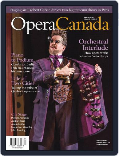 Opera Canada April 19th, 2013 Digital Back Issue Cover
