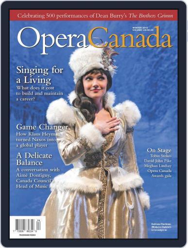 Opera Canada (Digital) December 28th, 2012 Issue Cover