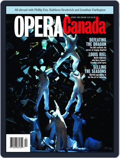 Opera Canada (Digital) December 10th, 2012 Issue Cover