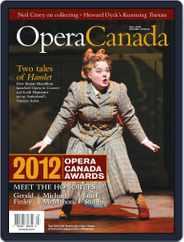 Opera Canada (Digital) Subscription October 12th, 2012 Issue