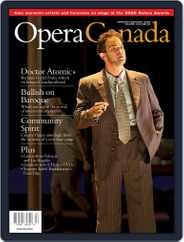 Opera Canada (Digital) Subscription July 16th, 2012 Issue