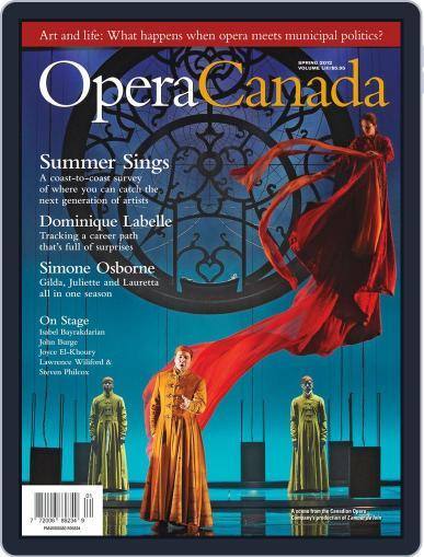Opera Canada April 12th, 2012 Digital Back Issue Cover