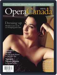 Opera Canada (Digital) Subscription January 3rd, 2012 Issue