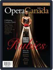 Opera Canada (Digital) Subscription September 23rd, 2011 Issue